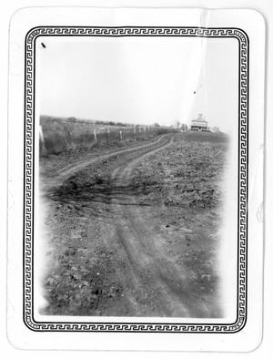 Primary view of object titled 'Road up to Hoxie House'.