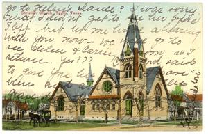 Primary view of object titled 'Christian Church in Taylor'.