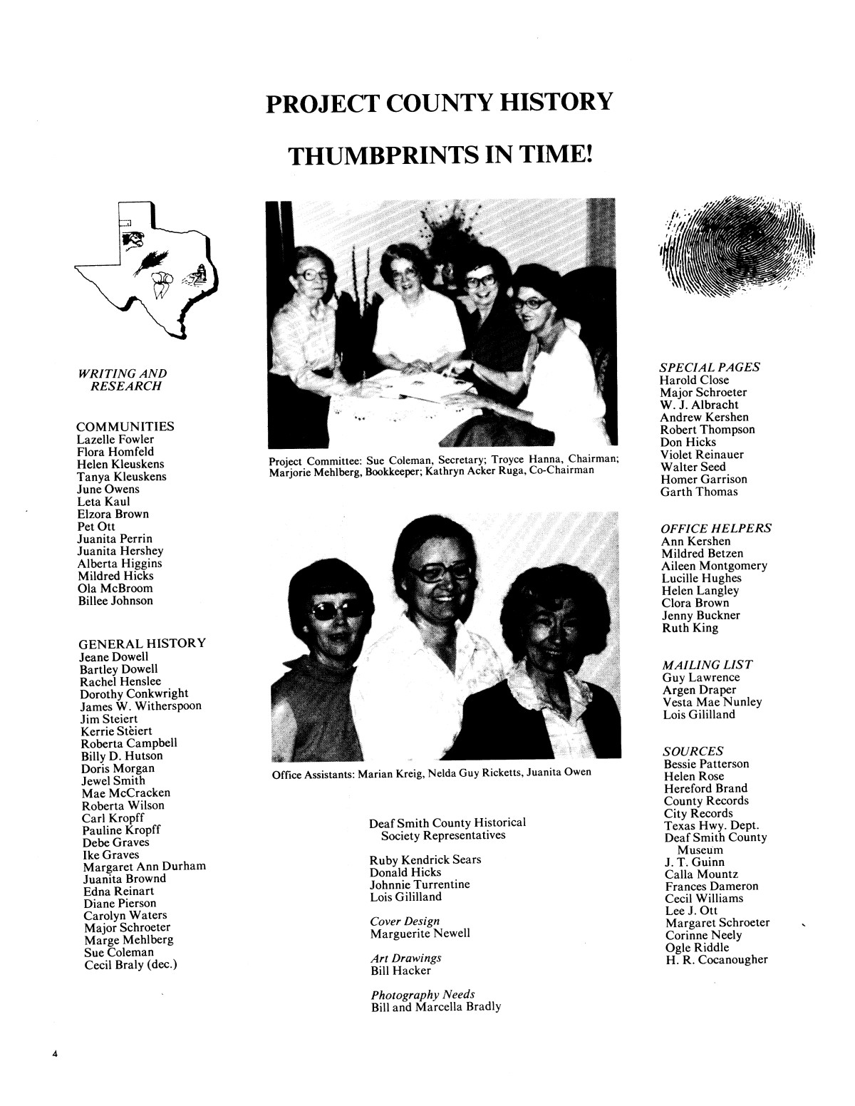 The Land and Its People, 1876-1981: Deaf Smith County, Texas - Page