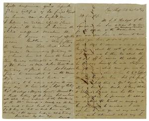 [Letter from David Fentress to his wife Clara, September 4, 1863]