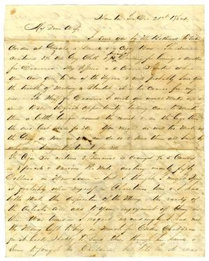 [Letter from David Fentress to his wife Clara, December 21, 1864]