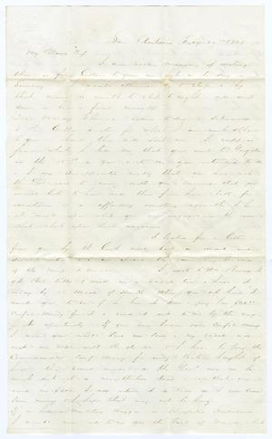 [Letter from David Fentress to Clara Fentress, February 26, 1865]