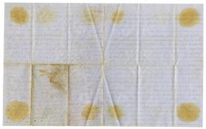 Primary view of object titled '[Letter from Maud C. Fentress to David Fentress, February 2, 1865]'.
