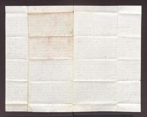Primary view of object titled '[Letter from Maud C. Fentress, Janurary 15, 1864]'.