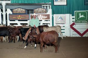 Primary view of object titled 'Cutting Horse Competition: Image 1997_D-101_32'.