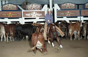 Primary view of object titled 'Cutting Horse Competition: Image 1997_D-104_06'.