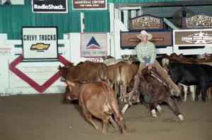 Primary view of object titled 'Cutting Horse Competition: Image 1997_D-108_28'.