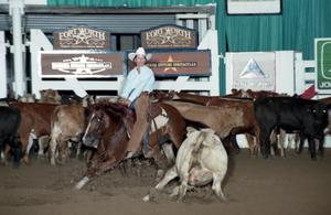 Primary view of object titled 'Cutting Horse Competition: Image 1997_D-118_27'.