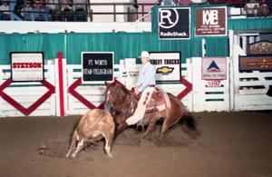 Primary view of object titled 'Cutting Horse Competition: Image 1997_D-120_13'.