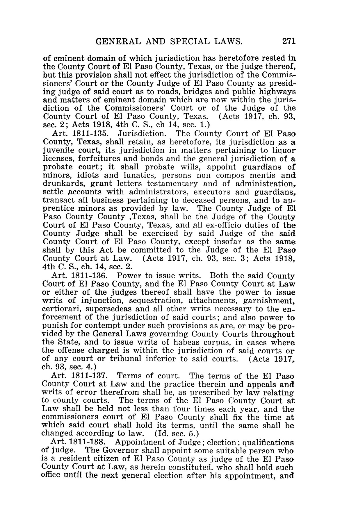 The Laws of Texas, 1927 [Volume 25]                                                                                                      [Sequence #]: 287 of 1111