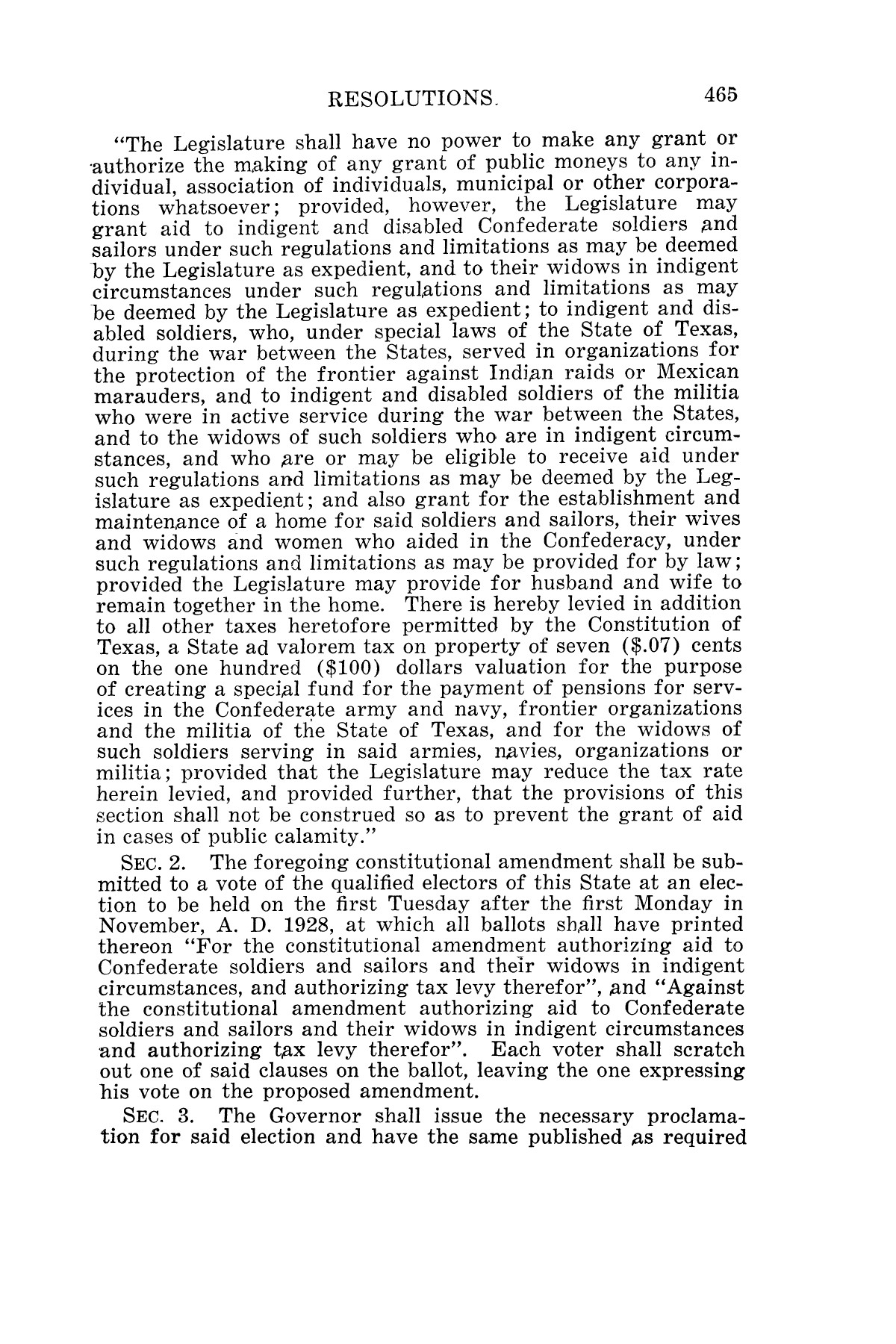 The Laws of Texas, 1927 [Volume 25]                                                                                                      [Sequence #]: 481 of 1111