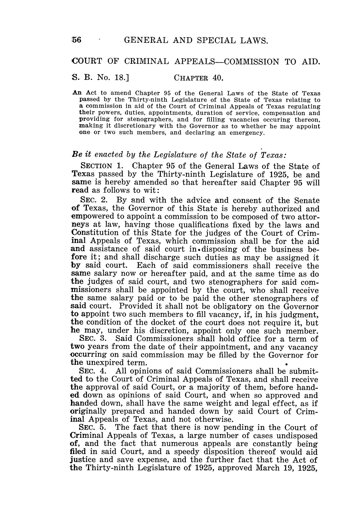 The Laws of Texas, 1927 [Volume 25]                                                                                                      [Sequence #]: 72 of 1111