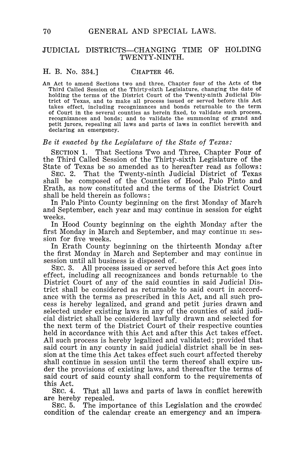 The Laws of Texas, 1927 [Volume 25]                                                                                                      [Sequence #]: 86 of 1111