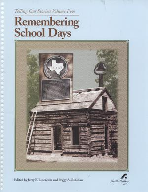 Primary view of object titled 'Remembering School Days'.