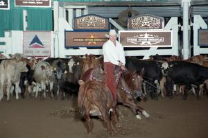 Primary view of object titled 'Cutting Horse Competition: Image 1997_D-134_15'.