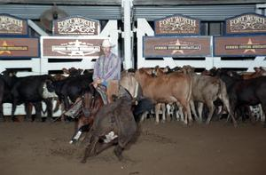 Primary view of object titled 'Cutting Horse Competition: Image 1997_D-134_23'.