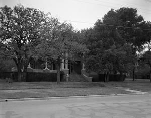 Primary view of object titled '[The Clark Residence on N W 4th Ave.]'.