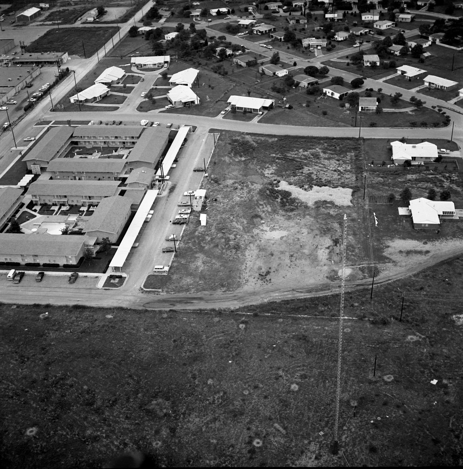 [An Aerial View Of Mineral Wells From The East-northeast