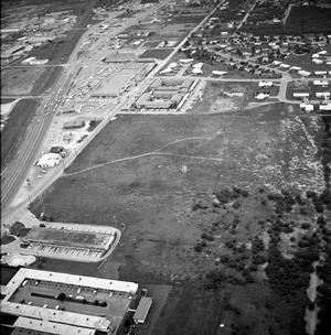 [An Aerial View of Mineral Wells From the East, 1967]