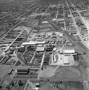 [An Aerial View of Cantex and Mineral Wells From the East, 1967]