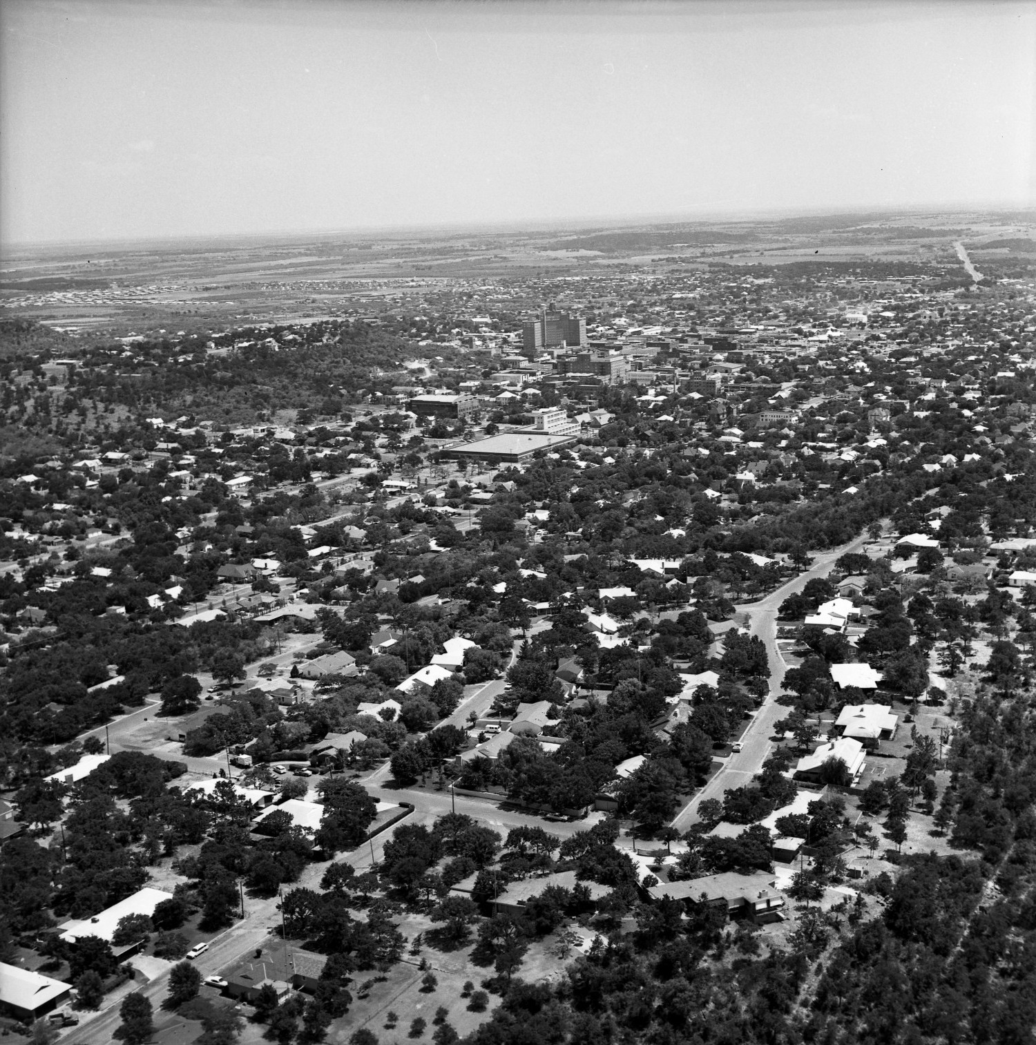 [An Aerial View of Mineral Wells From the Northwest, 1967]                                                                                                      [Sequence #]: 1 of 1