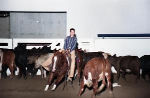 Primary view of object titled 'Cutting Horse Competition: Image 1997_D-1_23'.