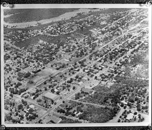 [An Aerial View of Northwest Mineral Wells]