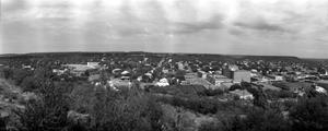 Primary view of object titled '[Panoramic Photograph of Mineral Wells]'.