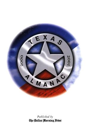 Primary view of object titled 'Texas Almanac, 2000-2001'.