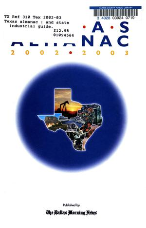 Primary view of object titled 'Texas Almanac, 2002-2003'.