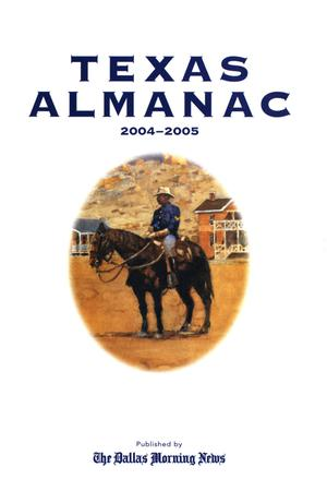 Primary view of object titled 'Texas Almanac, 2004-2005'.