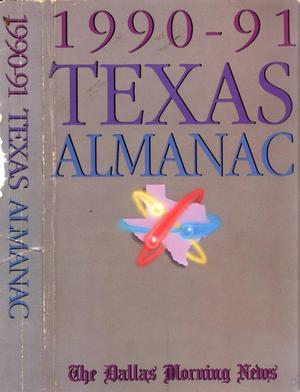 Primary view of object titled 'Texas Almanac, 1990-1991'.