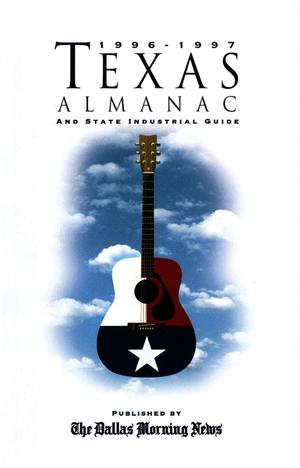 Primary view of object titled 'Texas Almanac, 1996-1997'.