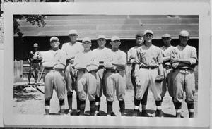 Primary view of object titled '[A Baseball Team]'.
