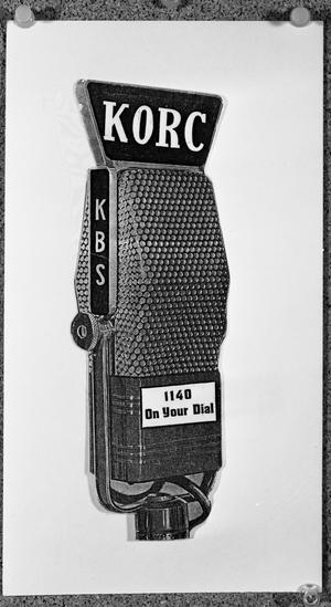 Primary view of object titled 'KORC 1140 On Your Dial'.