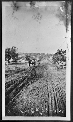 Primary view of object titled 'NW 6th Street-1906'.