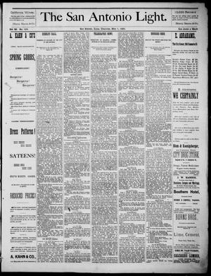 The San Antonio Light (San Antonio, Tex.), Vol. 4, No. 105, Ed. 1, Thursday, May 1, 1884