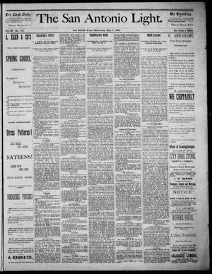 The San Antonio Light (San Antonio, Tex.), Vol. 4, No. 110, Ed. 1, Wednesday, May 7, 1884