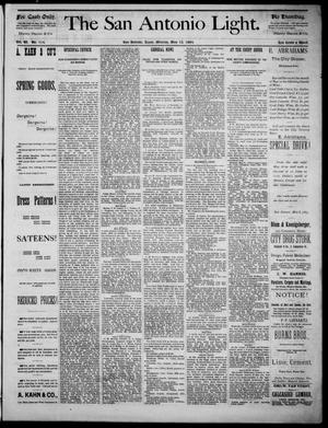 The San Antonio Light (San Antonio, Tex.), Vol. 4, No. 114, Ed. 1, Monday, May 12, 1884