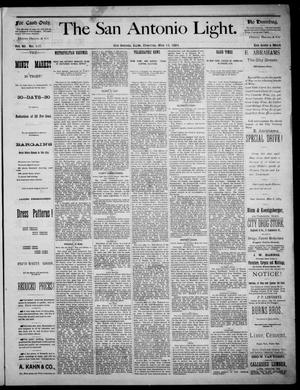 The San Antonio Light (San Antonio, Tex.), Vol. 4, No. 117, Ed. 1, Thursday, May 15, 1884