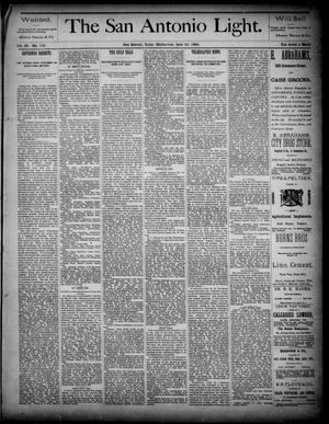 The San Antonio Light (San Antonio, Tex.), Vol. 4, No. 152, Ed. 1, Wednesday, June 25, 1884