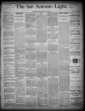 The San Antonio Light (San Antonio, Tex.), Vol. 4, No. 162, Ed. 1, Monday, July 7, 1884