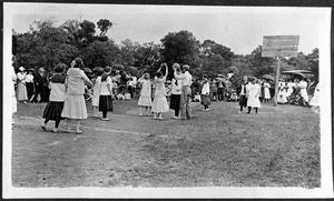 Primary view of object titled '[A Play Day at Elmhurst Park]'.