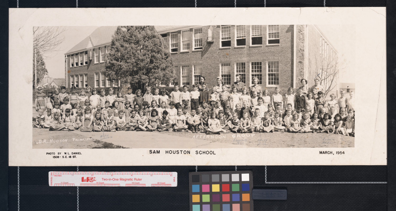 The Sam Houston School--- An Afternoon Group of 1954                                                                                                      [Sequence #]: 1 of 1