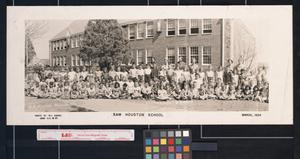 The Sam Houston School--- An Afternoon Group of 1954