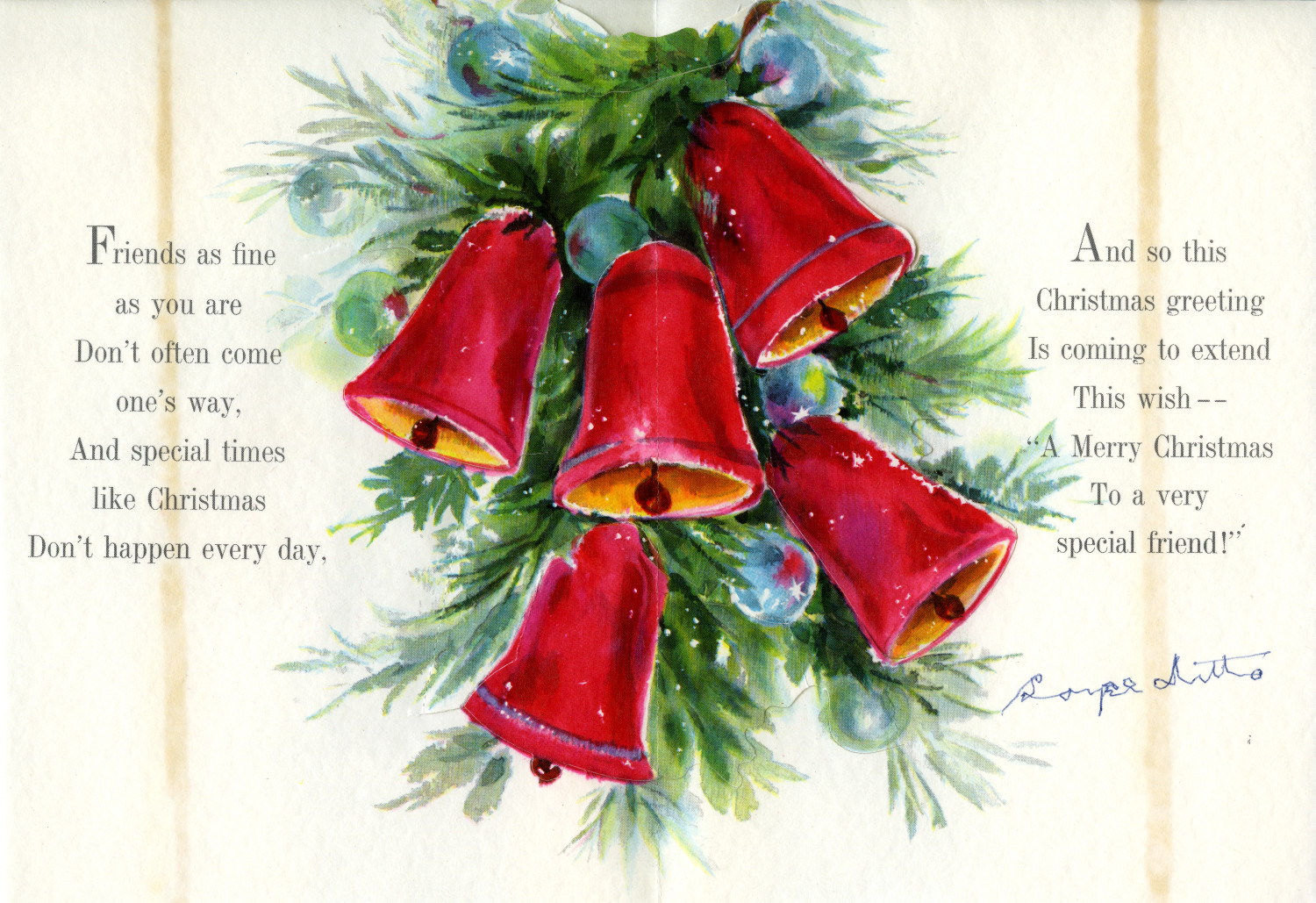 [A Christmas Card from Boyce Ditto]                                                                                                      [Sequence #]: 2 of 2