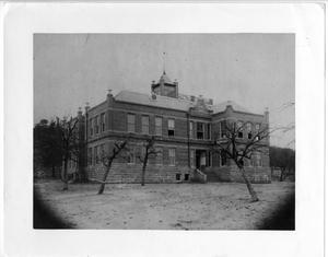 Primary view of object titled '[The West Ward School]'.