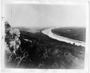 Primary view of object titled '[Photograph of Inspiration Point]'.