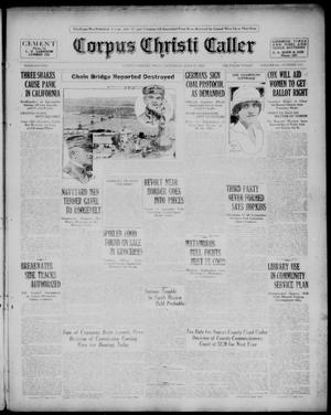 Primary view of object titled 'Corpus Christi Caller (Corpus Christi, Tex.), Vol. 22, No. 137, Ed. 1, Saturday, July 17, 1920'.