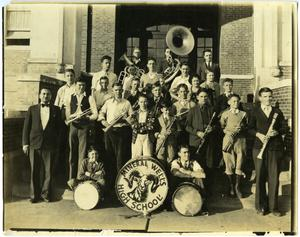 [The Mineral Wells High School Concert Band]